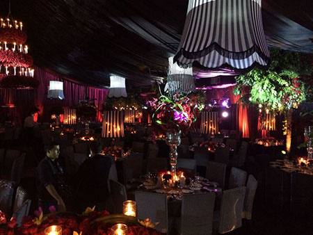 Versal banquetes for Jardin versal